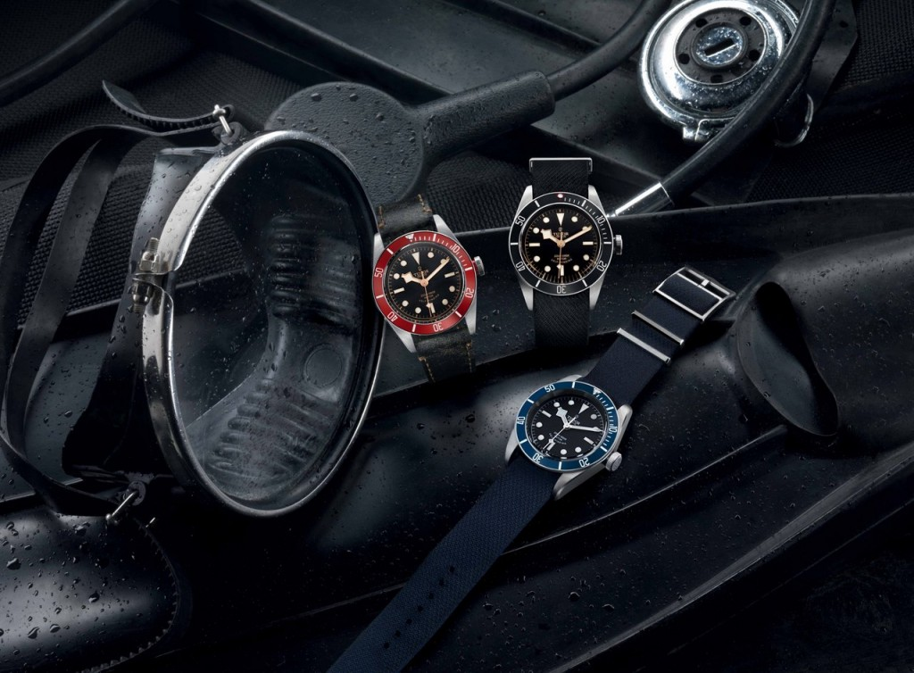 TUDOR BLACK BAY BLACK 1