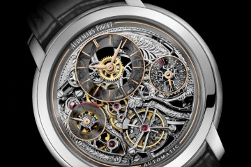 Jules Audemars Openworked Tourbillion